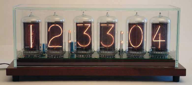Wwvb Radio Controlled Nixie Tube Clock
